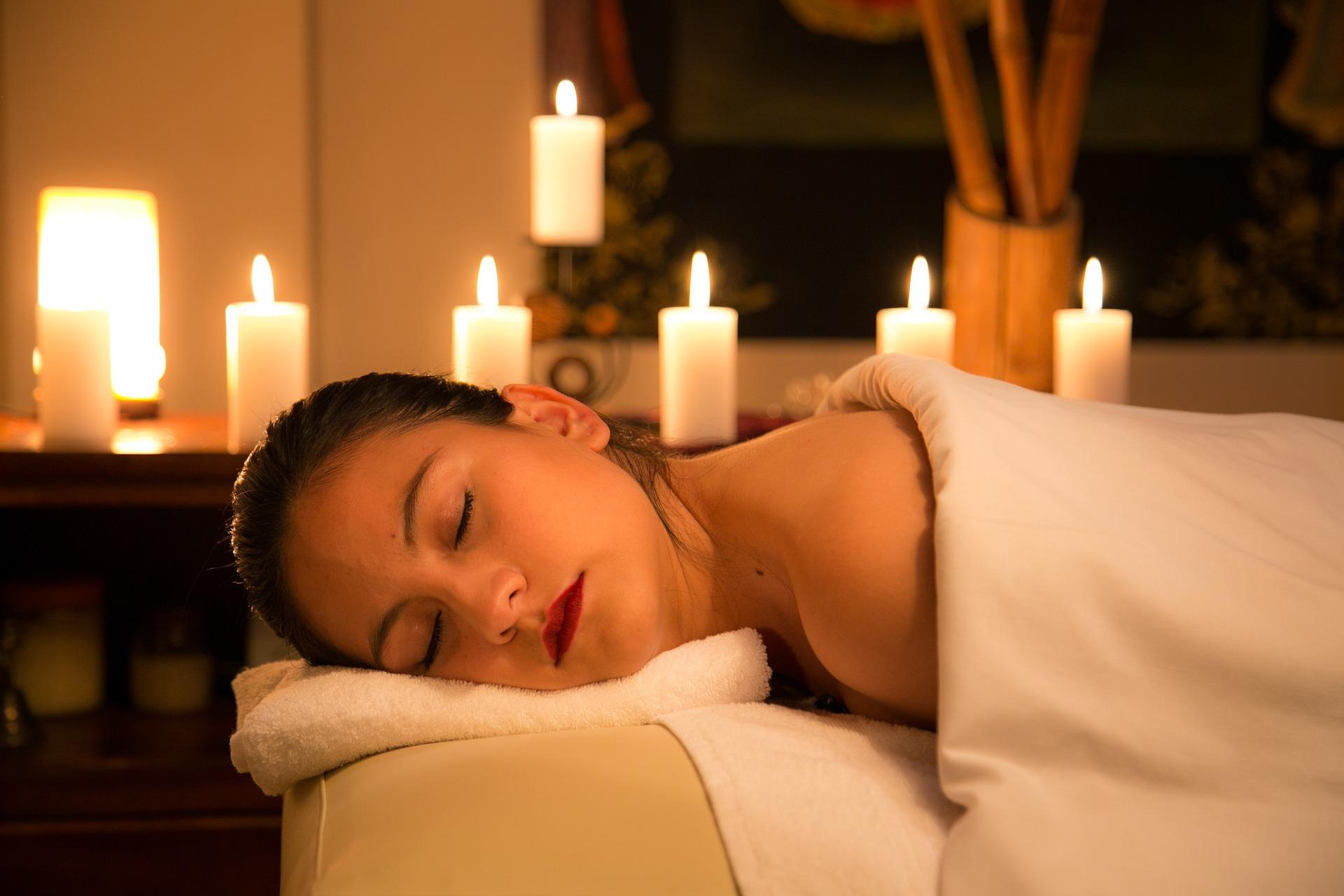 Entspannung nach einer wohltuenden Massage