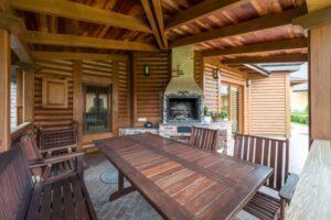 Terrasse in Holz-Optik